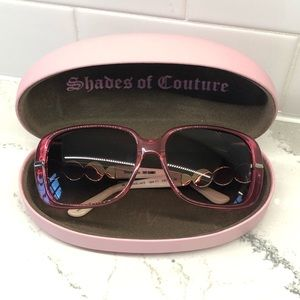 Juicy Couture Bronson Sunglasses pink